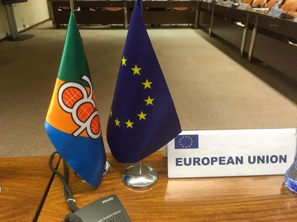 Afrikan, Karibian ja Tyynenmeren maaryhmä (AKT) ja EU ovat neuvotelleet uudesta yhteistyösopimuksesta vuodesta 2018 lähtien. Sopimusneuvottelut 79 AKT-maan kanssa oli tarkoitus saada päätökseen tänä vuonna. Kuva: Matleena Virkkunen