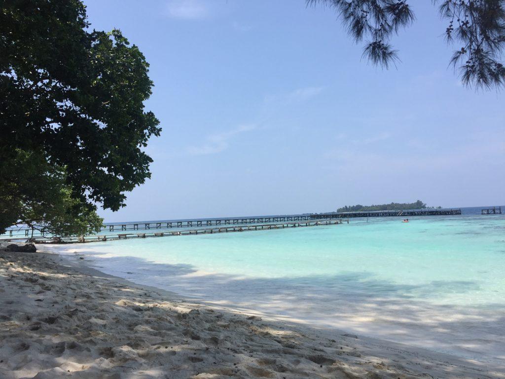 Pulau Sepa, 90:än minuutin venematkan päässä Jakartasta. Kuva: Ira Hannula.