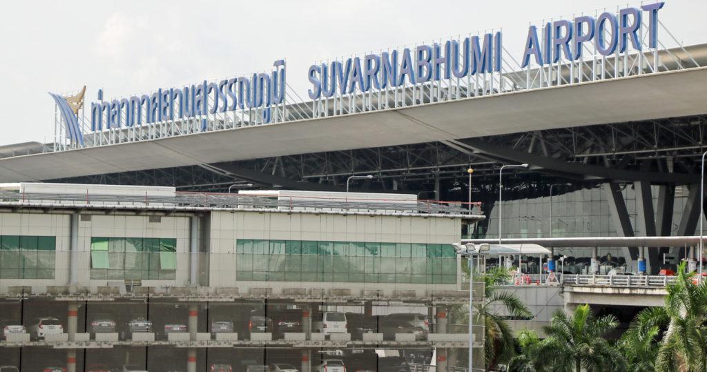 Lukuisat suomalaiset kulkevat vuosittain Bangkokin kansainvälisen lentokentän Suvarnabhumin kautta. Kuva: Sombat Suwanavasri.