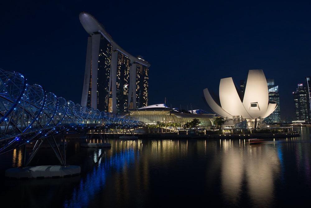 Vakaasta ja vauraasta Singaporesta on tullut monelle yritykselle astinlauta Aasiaan. Kuva: Paula Parviainen.