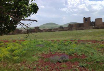 Ani, UNESCOn maailmanperintöehdokaslistalla oleva upea raunioituneiden rakennusten alue, josta tuli muinaisen Armenian pääkaupunki 961 AD.