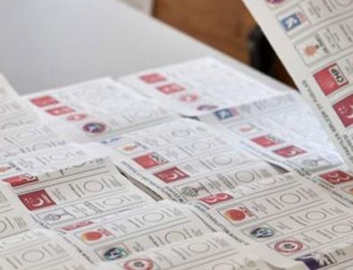 Turkkilaisia äänestyslippuja