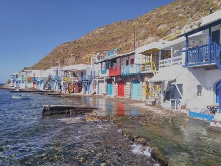 Kreikkalaiskylän rantaa
