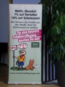 Saksan kouluruokailuverkosto vaatii kouluruoan arvonlisäveron alentamista 19 prosentista 7 prosenttiin.