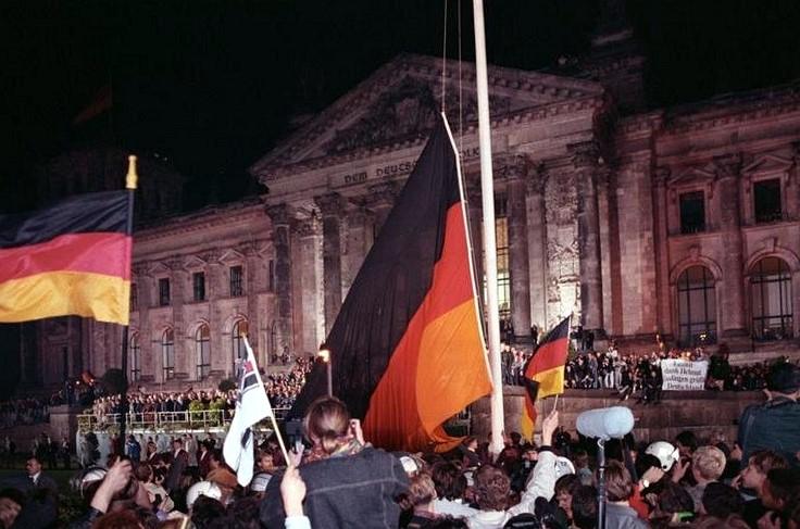 Kolmas MM-voitto vuonna 1990 muurin murtumisen jälkeen. © Wikimedia Commons