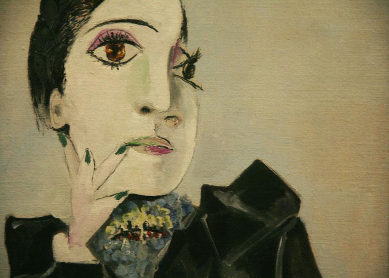 Pablo Picasso: Dora Maar mit grünen Fingernägeln  (Kuva: Flickr/Sarah Mittermaier CC)
