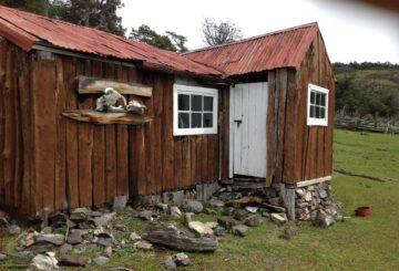 Harry Hildénin mökki Patagoniassa