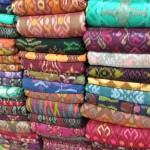 Perinteisiä Batik kankaita