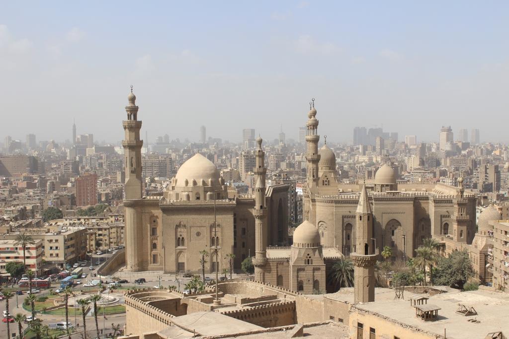 Kairo_Citadelista_katsottuna