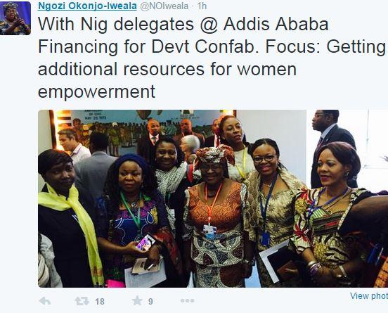 Addis Abeban kokouksesta twiitattiin ahkerasti.