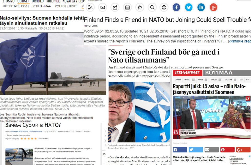 Nato-arvio ja siitä käytävä keskustelu on näkynyt hyvin mediassa, Suomessa ja ulkomailla.