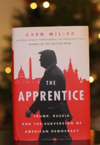 Toimittaja Greg Millerin kirja The Apprentice ilmestyi lokakuun alussa