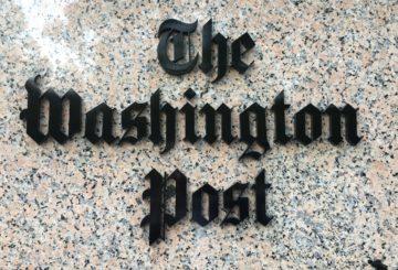 The Washington Postin toimitus Washington D.C:ssä sijaitsee K Streetillä