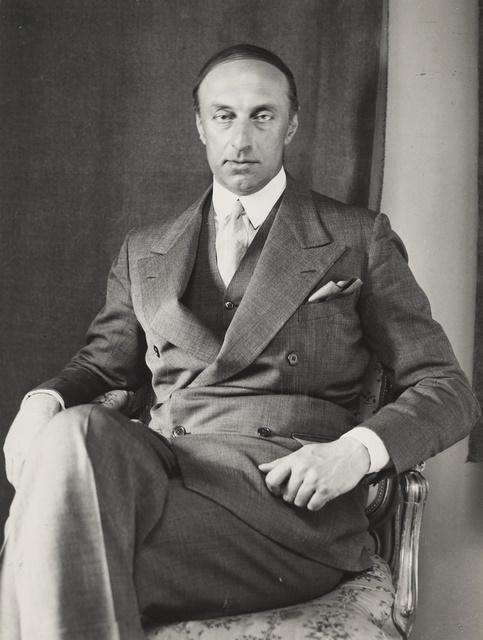 G.A. Gripenberg 1930-luvun alkupuolella. Kuva: A. Pietinen, Museovirasto, https://www.finna.fi