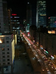 Kiinan kasvavasta liikenteestä on tullut oma ongelmansa, jonka hoitaminen vaatii uusia ratkaisuja. Kuva: Jani Mustonen.