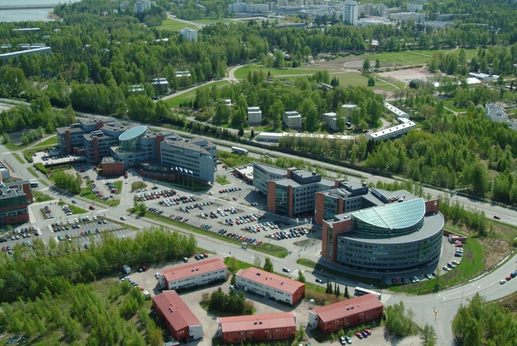 Kuvateksti: Johtava kiinalainen yrityspuistoyhtiö ZPark sijoittui jo vuonna 2012 Technopolikseen Otaniemessä. Kuva: Golden Bridge.