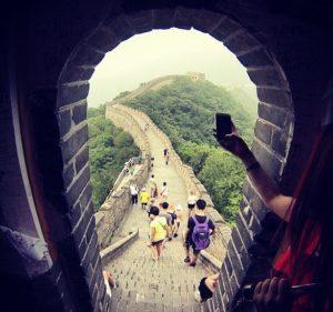 The Great Firewall of China on saanut nimensä tietysti Kiinan muurista. Tämän leikittelevän nimen mainitsi tiettävästi ensimmäisen kerran Geremie Barmé jo vuonna 1997.