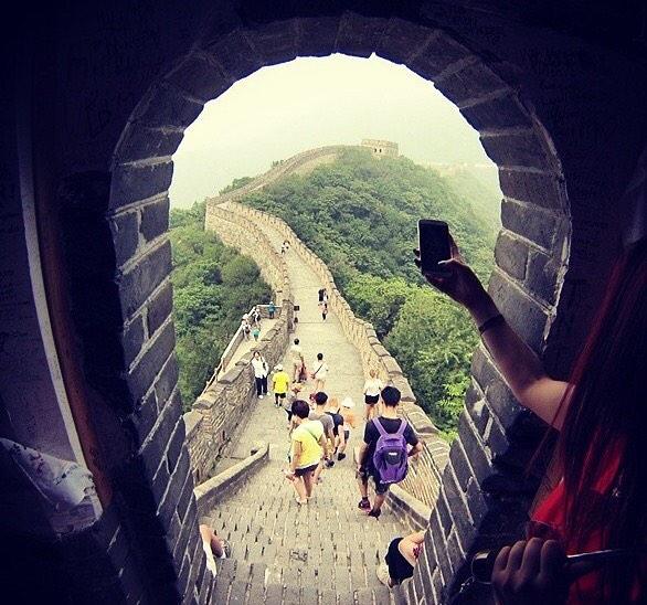 iso pillua Kiinassa
