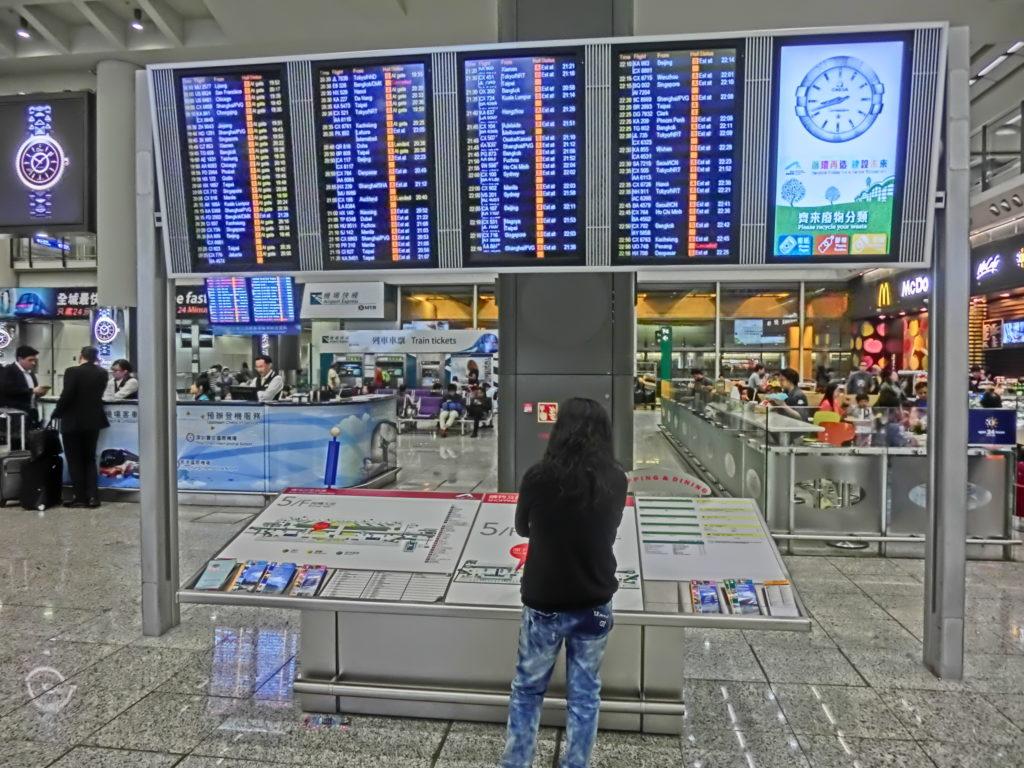 Hongkongin kansainvälinen lentokenttä. Kuva: Wikimedia Commons.