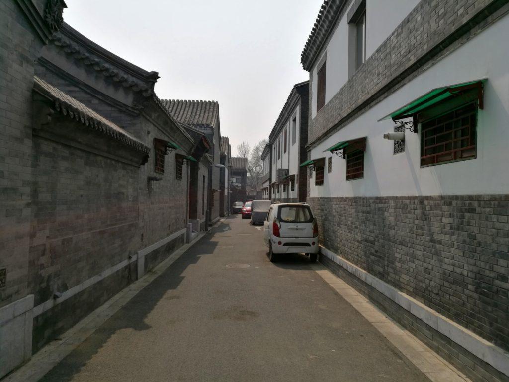 Modernisoitu hutong-asuinalue Pekingin keskustassa. Kuva: Ari-Joonas Pitkänen.
