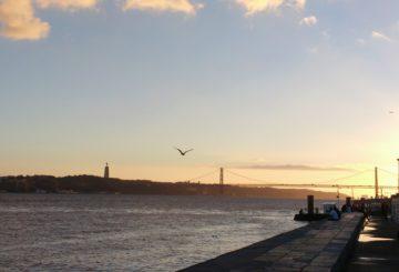 Lissabonin jokiranta. Kuva: Essi Kykyri.