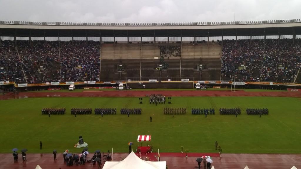 Zimbabwen 35- vuotisen itsenäidyyden juhlintaa vuonna 2015. Kuva: Timo Olkkonen.