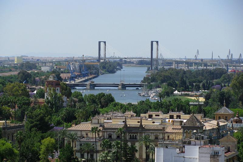 Näkymä Sevillan katedraalin näkötornista. Kuva: Rubén Vique, flickr.com, ccby 2.0