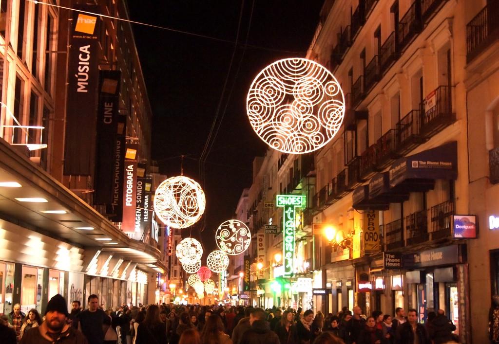 Ostoskatu Madridissa ©Emmi-Maria Husu