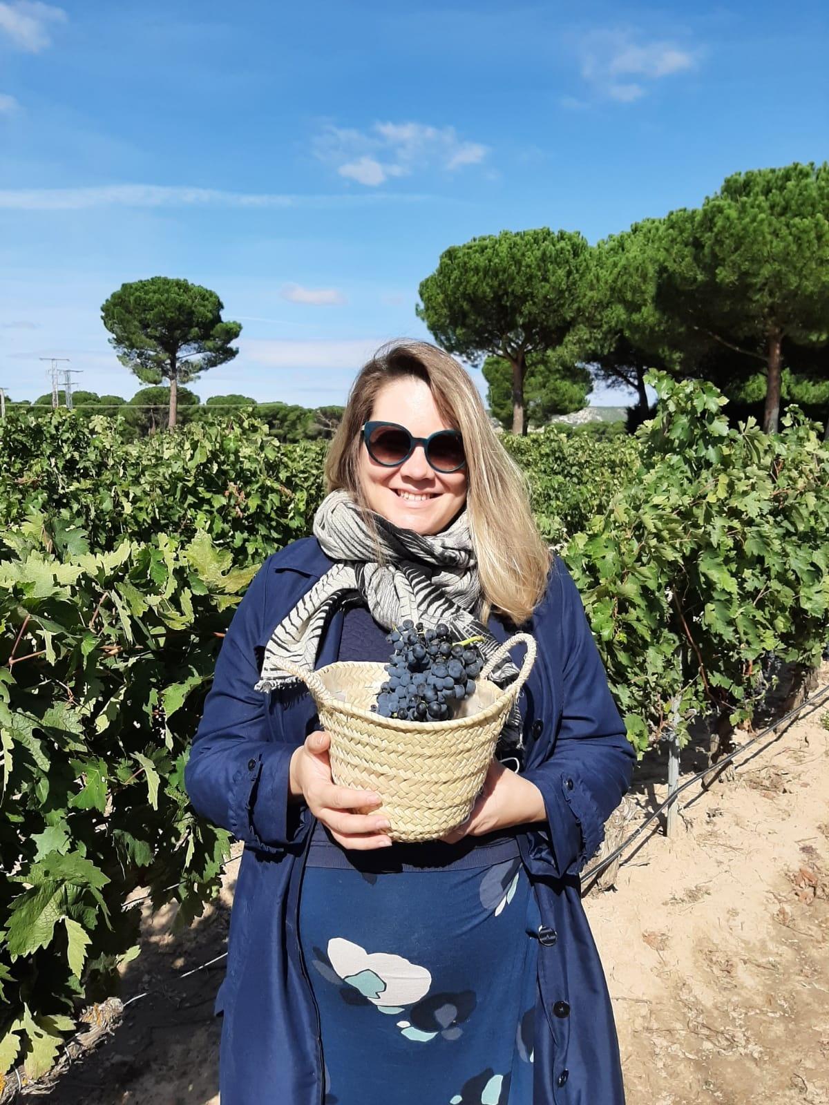 Espanja on yksi maailman suurimmista viinintuottajista ja Ribera del Duero on La Riojan ohella Espanjan merkittävimpiä viinialueita. Kuva: Sara Tuxen