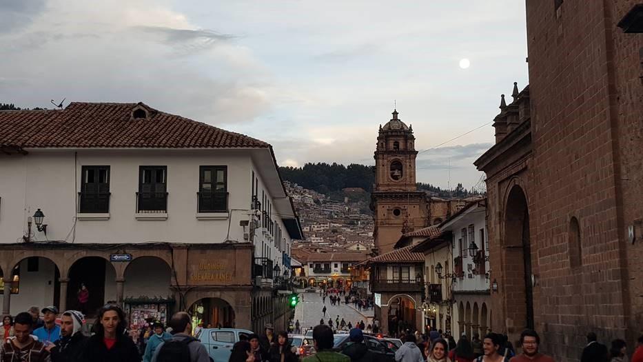 Vaihtomuistoja: Inkavaltakunnan pääkaupunki Cusco. Kuva: Jenni Nummela