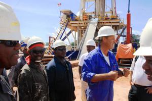 Kaasunetsintää kansainvälisten yritysten toimesta Mtwaran alueella