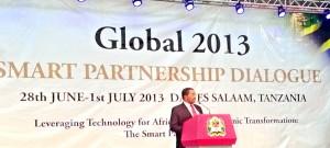 Presidentti Kikwete Smart Partnership konferenssissa
