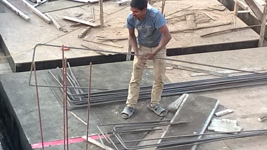 Nepalilainen rakennustyömies