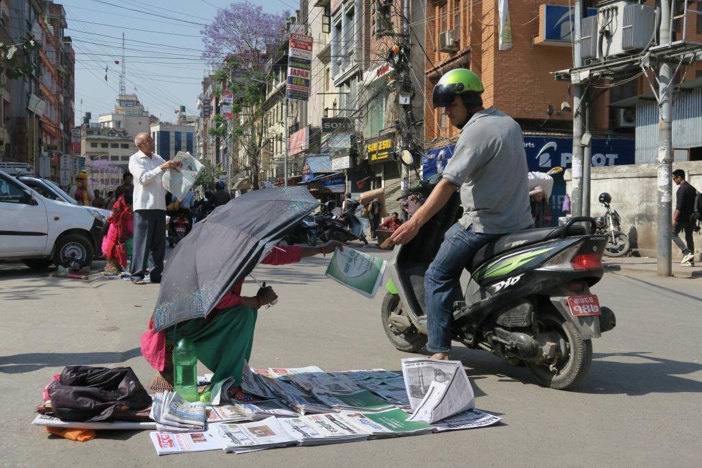 Nepalissa järjestetään pakallisvaalit tänä keväänä 20 vuoden tauon jälkeen. Kuva: Hanna Päivärinta/UM