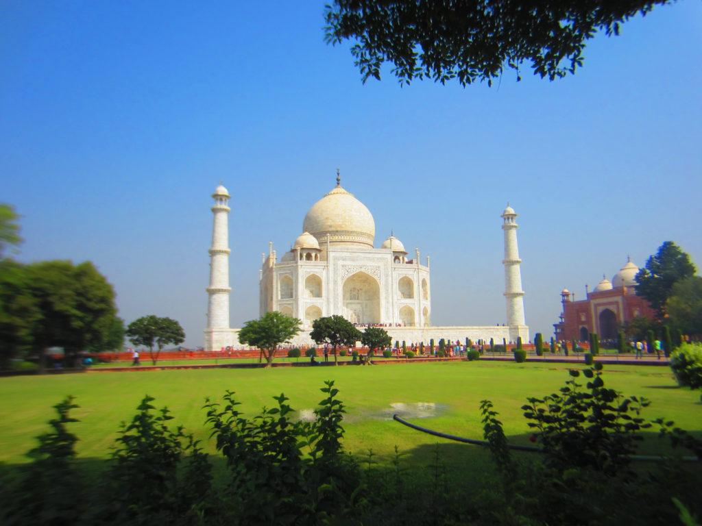 Taj Mahal. Kuva: Susanna Lindholm