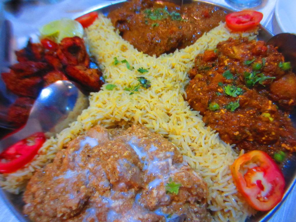 Intialainen ruoka on maukasta ja mausteista. Kuva: Susanna Lindholm