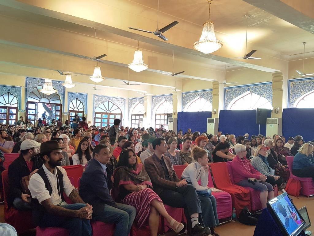 Festivaaliyleisö täytti salit. Kuva: Meenakshi Mahajan.