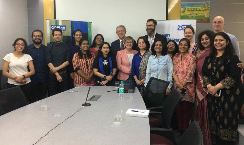Plan Intian kampanja oli onnistunut. Kuva: Suurlähetystö New Delhi.