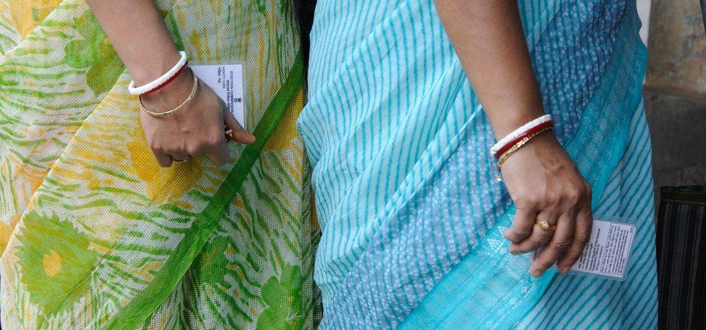 Tämän kevään parlamenttivaaleissa intialaisia äänioikeutettuja on 875 miljoonaa. Kuva: Goutam Roy.