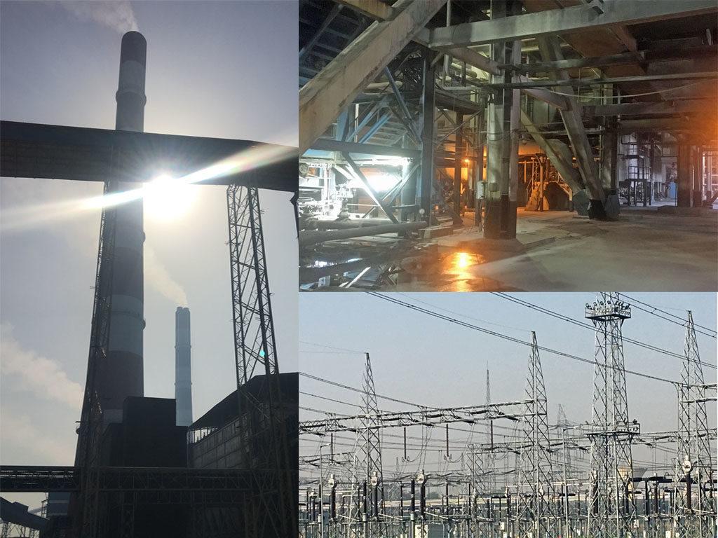 NTPC:llä on Madhya Pradeshissa kolme lähekkäistä hiilivoimalaa: Rihand, Vindhyachal ja Singrauli. Kuvat: Mikko Pötsönen.
