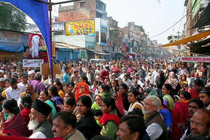 Naisten ja tyttöjen turvallisuus on kirvoittanut mielenosoituksia ympäri Intiaa. #MeToo toi lisäpontta epäkohtien esiinnostamiseksi. Kuva: Flickr/Creative Commons