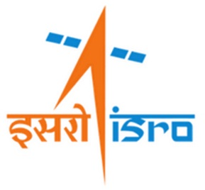 ISRO:n logo. Kuva: ISRO.