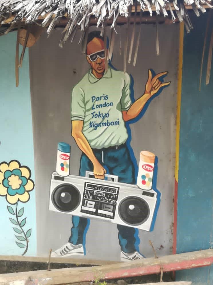 Urbaania taidetta South Beachillä. Kuva: Heini Vihemäki