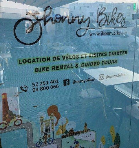 Jeuness-hankkeen yritys Johnny Bikes tarjoaa pyöränvuokrausta ja opastettuja kierroksia. Kuva: Laura Saarinen