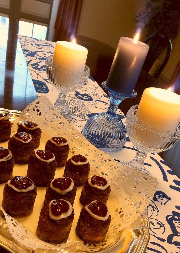 Runebergin torttuja tarjoiltiin helmikuussa.