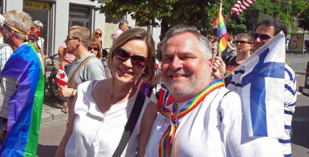 Oslo Pride kesäkuussa.