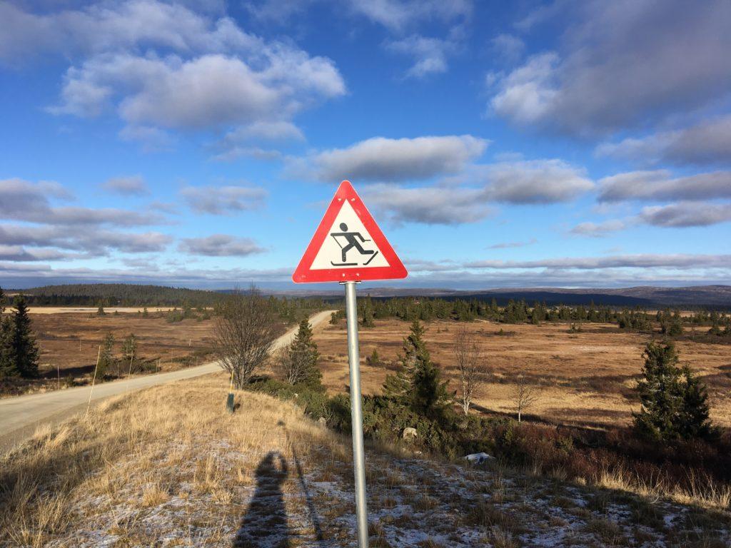 Näin Norjassa: Varokaa hiihtäjiä!