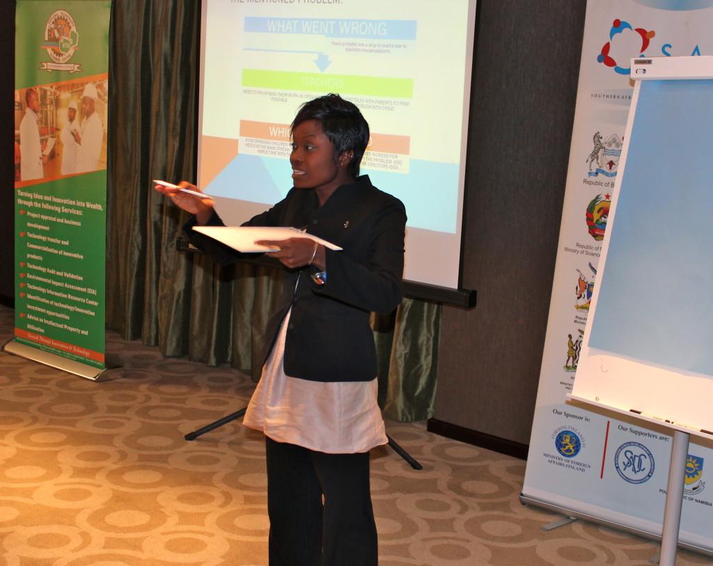 Southern Africa Innovation Support (SAIS) kouluttaa ja rohkaisee innovoimaan. Kuva: William Mbuta