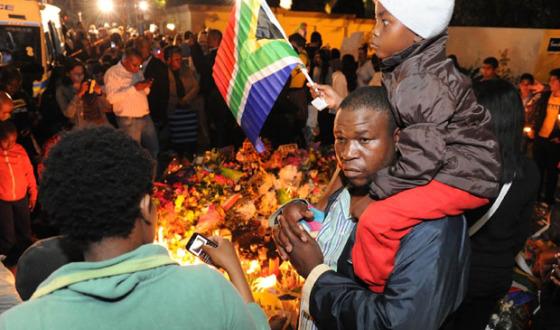 Nelson Mandelan kuolemasta tuli 5.12. kuluneeksi vuosi. Kuva: GCIS