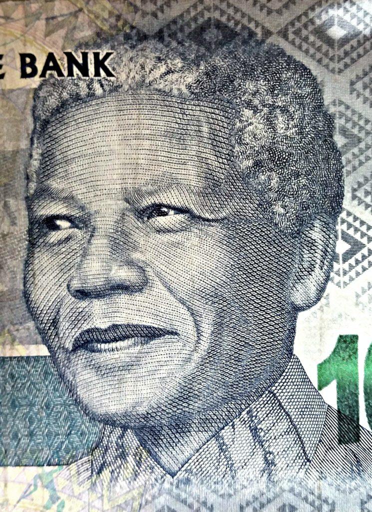 Nelson Mandela 100 randin setelissä. Kuva: Daniel Mickos.